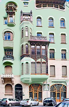 Art Nouveau Architecture | Pin Art Nouveau Architecture Paris Font Dafont on Pinterest