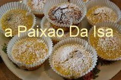 A Paixão da Isa: Queijadas de limao e chocolate
