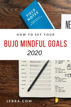 Want goal setting tips for your bullet journal? Check out these mindful planning tips for your planner in the new year! Bullet Journal Goal Setting, Bullet Journal Tracker, Bullet Journal Hacks, Bullet Journal How To Start A, Bullet Journal Layout, Bullet Journal Inspiration, Journal Ideas, Bullet Journals, Types Of Journals