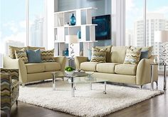 picture of Bay Shore Green 5 Pc Living Room  from Living Room Sets Furniture