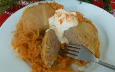 Hungarian stuffed cabbage