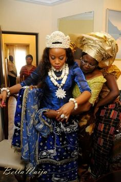 Traditional wedding: Iya