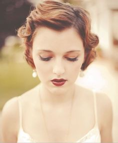 Great Gatsby makeup style 001