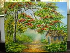 Resultado de imagem para pinturas em telas a oleo