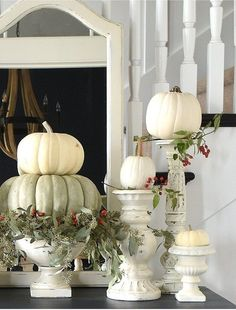 Surprising Cool Tips: Vintage Home Decor Store Apartment Therapy vintage home decor farmhouse shutters.Vintage Home Decor Diy Flea Markets vintage home decor victorian stairs.Vintage Home Decor Diy Flea Markets. Fall Home Decor, Autumn Home, Fall Decor For Mantel, Country Fall Decor, Fall Mantels, Mantles, Thanksgiving Decorations, Seasonal Decor, Holiday Tablescape