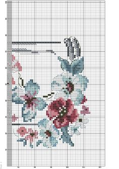 Embroidery Stitches, Embroidery Patterns, Cross Stitch Patterns, Butterfly Cross Stitch, Cross Stitch Flowers, Cross Stitching, Beading Patterns, Projects To Try, Kids Rugs