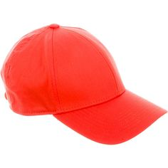 Pre-owned Acne Woven Baseball Cap ($90) ❤ liked on Polyvore featuring accessories, hats, red, snap hat, ball cap, woven hat, ball cap hats and red ball cap