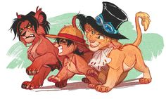One Piece meets Lion King