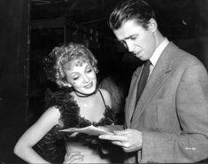 Marlene Dietrich and James Stewart