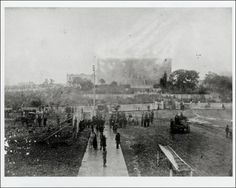Hillyer, H. B.. The Burning Capitol, Photograph, November 7, 1881; digital image, (http://texashistory.unt.edu/ark:/67531/metapth125136/ : accessed April 08, 2013), University of North Texas Libraries, The Portal to Texas History, http://texashistory.unt.edu; crediting Austin History Center, Austin Public Library, Austin, Texas.