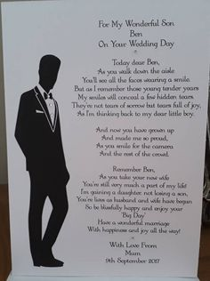 Wedding Day Quotes, Wedding Poems, On Your Wedding Day, Wedding Cards, Wedding Stuff, Wedding Prayer, Wedding Script, Wedding Fun, Rustic Wedding