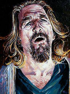Jeff Bridges as 'The Dude', The Big Lebowski, Dave MacDowell