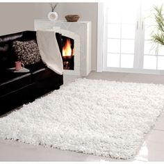 Cozy Shag Area Rug - A Collection by Anglina - Favorave