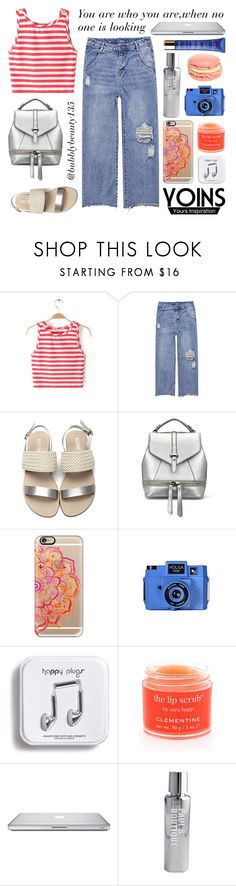 """""""Yoins   You Are Who You Are"""" by bubblybeauty135 ❤ liked on Polyvore featuring Casetify, Holga, Theory, Sara Happ, Paul's Boutique and Guerlain"""
