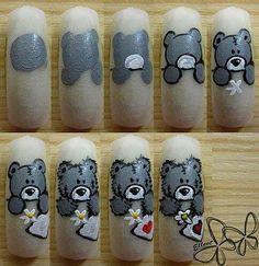 Tutoríal diseño oso cute!