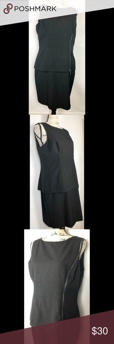 Black Ralph Lauren Dress Size 8 Beautiful Ralph Lauren Dress ❤️Perfect for any career wardrobe. Bi-layer Dress. Features a side zipper in front for flair. Has back zipper for easy access.  Size 8. Make this ☝🏾️treasure yours today ☺️. Don't be scared  to make an offer, you never know unless you try. Bundle multiple items for the best savings. Pay one low price  shipping 🎁! Thanks for stepping into my closet  😘 Lauren Ralph Lauren Dresses