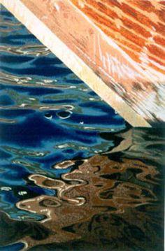 Dhow Silkscreen Print by Brendan Neiland