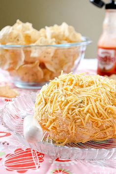 Buffalo Chicken Cheese Ball: 1 cup chicken, cooked and shredded  1/4 cup crumbled blue cheese  1/4 cup shredded mozzarella cheese  1/2 jalapeno pepper, finely diced  2-3 Tbsp hot sauce (I like Frank's)  1 package (8oz) cream cheese, softened  1/2- 1 cup shredded cheddar cheese for rolling