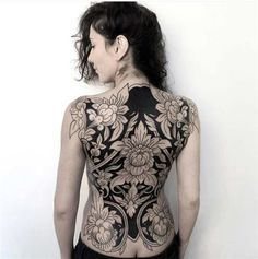 Tattoos, awesome tattoos, back tattoo women full, full back tattoos, full b Back Tattoo Women Full, Full Back Tattoos, Feminine Back Tattoos, Floral Back Tattoos, Body Tattoos, Girl Tattoos, Sleeve Tattoos, Tatoos, Tattoo Sleeves