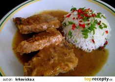 Easy Cooking, Cooking Recipes, Czech Recipes, Food 52, Recipies, Food And Drink, Chicken, Czech Food, Per Diem