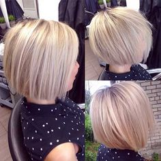 25 haircuts for short straight hair Wavy Bob Hairstyles hair haircuts short straight Bob Hairstyles For Fine Hair, Short Hairstyles For Women, Easy Hairstyles, Scene Hairstyles, Hairstyle Ideas, Hairstyles 2018, Hairstyle Short, Blonde Hairstyles, Pixie Haircuts