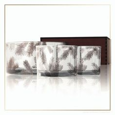 Thymes Frasier Fir Statement Collection Large Candle Trio