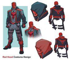 Dc Heroes, Comic Book Heroes, Comic Books Art, Comic Art, Dc Comics Characters, Dc Comics Art, Nightwing, Red Hood Dc, Comic Character