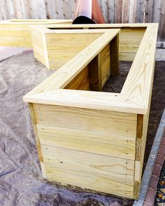 37 Feet of DIY Planter Boxes - Yellow Brick Home