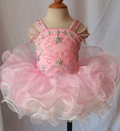 Glitz Pageant dress by BlingBabyButique on Etsy