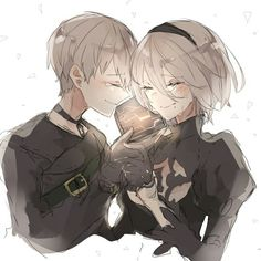 9S and 2B | NeiR:Automata
