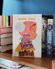 A gorgeously written, hopeful middle grade novel in verse about a young girl who must leave Syria to move to the United States, perfect for fans of Jason Reynolds and Aisha Saeed.  📸 @workreadsleeprepeat Books For Tweens, The Middle, Jasmine, Middle School, The Row, Words, Teaching High Schools, Plant Bed, Secondary School