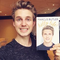 this is a proud but very surreal moment… the first ever copy of my book 😁😁😁 Marcus Butler, Youtubers, Einstein, Books, Libros, Book, Book Illustrations, Libri