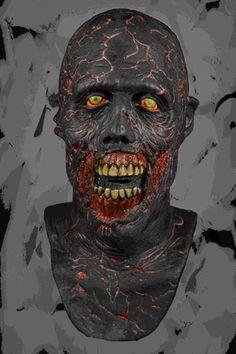 The Walking Dead Charred Walker Halloween Mask