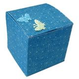 gift wrapping techniques cube box