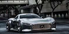 The Mercedes-AMG Hypercar Is Reportedly Being Co-Developed With Lotus. The Mercedes-Benz AMG Vision Gran Turismo concept car from 2013.