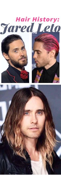 Check out Jared Leto's hair history!