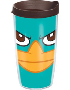 Perry the platypus tervis cup!! I need one!! Christmas is right around the corner lol
