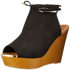 Qupid Women's GIMMICK-35AX Wedge Sandal ** Read more reviews of the product by visiting the link on the image.