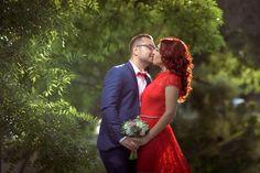 Wedding Dress, Couple Photos, Couples, Red, Hochzeit, Bride Dressing Gown, Wedding Dresses, Couple Photography, Couple
