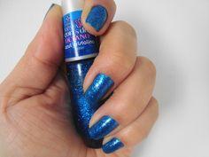 unha da semana: azul cristalino