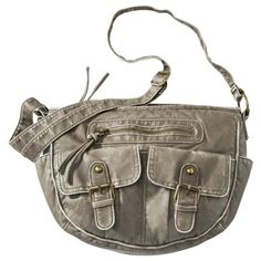 Had a purse like this before -  absolutely loved it in Black! Mossimo Supply Co. Crossbody Handbag - Gray