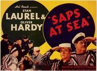 Saps at Sea movie poster- Laurel and Hardy  http://laurel-and-hardy.net/saps-sea/