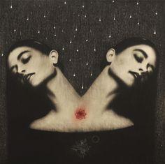 Omar Galliani, Le tentazioni di Angelica