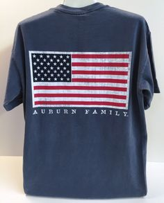 Auburn Bar American Flag Tee (SKU WOMEN'S TEBD1030109 11802006)