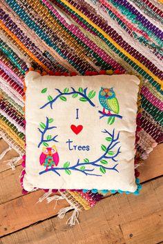 I Heart Trees Cushion
