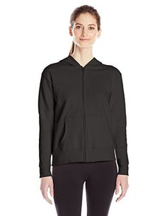 Hanes Womens Full-Zip Hooded Jacket *** See this great product. (This is an affiliate link) #TrackActiveJackets