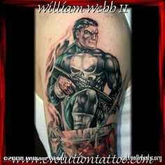 punisher tattoo - Google Search
