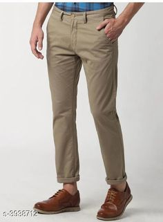Trousers Trendy Stylish Cotton Men's Trousers Fabric: Cotton Waist Size: 28 in 30 in 32 in 34 in 36 in Length: Up To 40 in Type: Stitched Color: Camel Description: It Has 1 Piece Of Men's Trouser Country of Origin: India Sizes Available: 28, 30, 32, 34, 36 *Proof of Safe Delivery! Click to know on Safety Standards of Delivery Partners- https://ltl.sh/y_nZrAV3  Catalog Rating: ★4 (1846)  Catalog Name: Trendy Stylish Cotton Men's Trousers Vol 15 CatalogID_555091 C69-SC1212 Code: 364-3938712-
