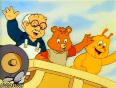 The Adventures of Teddy Ruxpin (As Aventuras de Teddy Ruxpin) / 1987 / DiC Entertainment Retro Cartoons, Old Cartoons, Cartoon Tv, Animated Cartoons, Teddy Ruxpin, Pin Up Vintage, 90s Childhood, My Childhood Memories, Sweet Memories