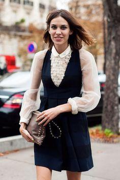 that blouse! that dress!!